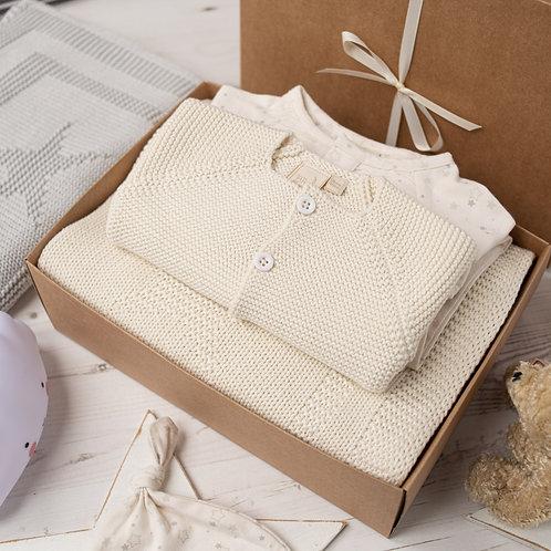 Little Star Luxury Cream Baby Shower Gift Box