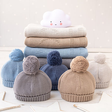 2021 Toffee Moon Personalised Knitted Ba