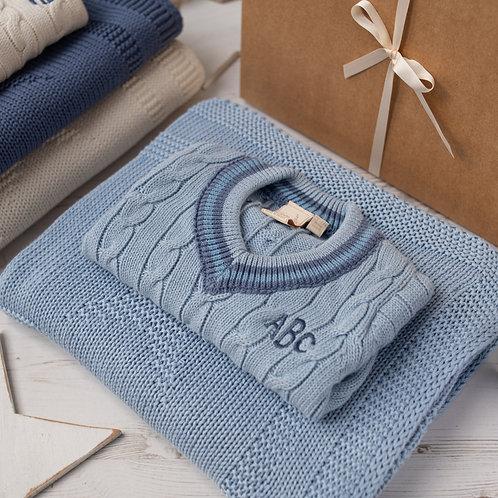 Little Cricket Star Blue Baby Gift Set