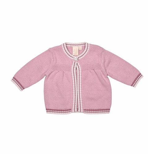 Dawn Pink Matinee Baby Cardigan