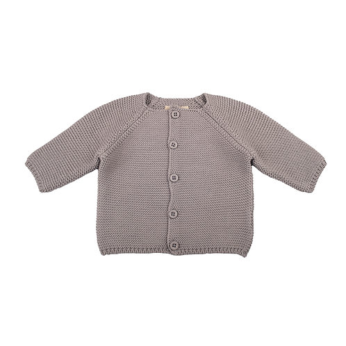 Hound Grey Bubble Baby Cardigan