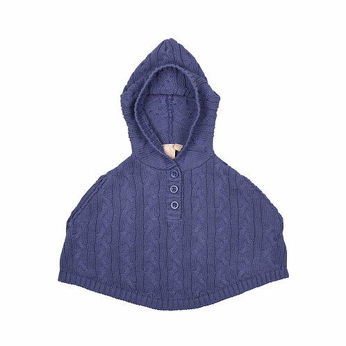 Sloeberry Cable Baby Poncho