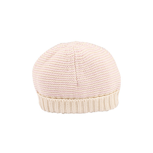 Cradle Pink & Cream Stripe Bubble Baby Hat