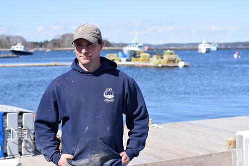 Classic Fishermen's Association - Hooded Pullover Sweatshirt