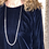 Thumbnail: SENCE COPENHAGEN Couture Morning Dew Long Necklace with Pearls in Silver