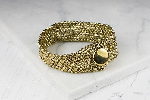 My Doris gold cuff