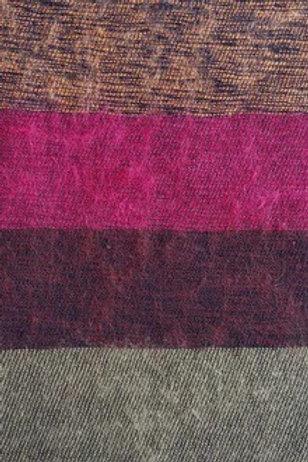 Curious Yak Rosehip scarf