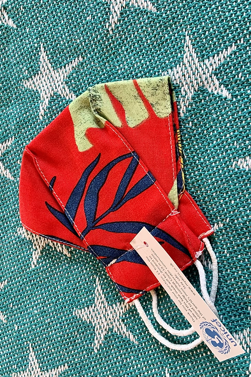 UNICEF TROPICAL RED FACE MASK