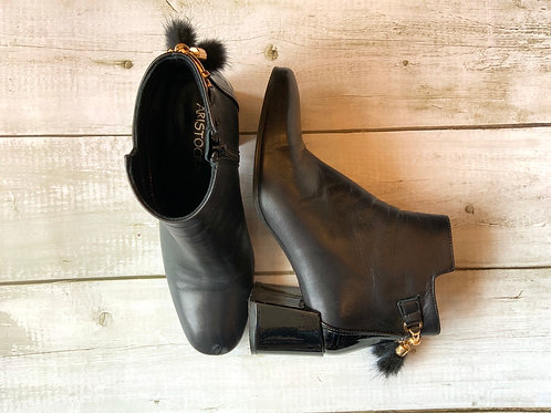 ARISTOCRAT LEATHER BOOTS 37