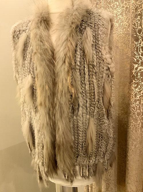 Fur waistcoat one size