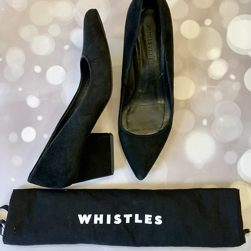 WHISTLES SUEDE SHOES