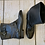 Thumbnail: UGG BROWN LEATHER ANKLE BOOTS