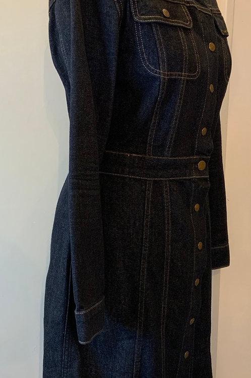 Lee denim dress size medium