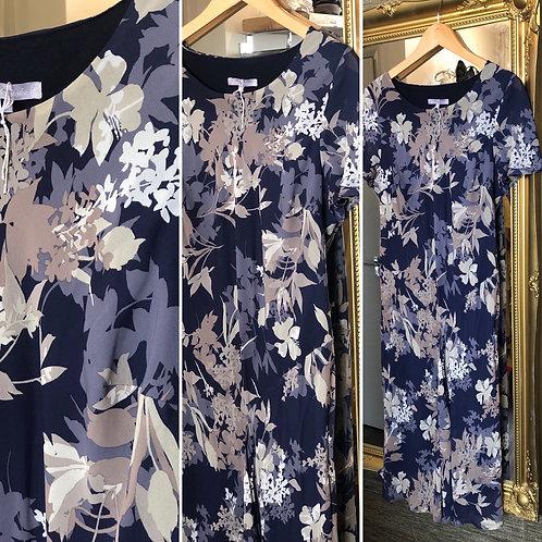 Designer Emma Blake floral dress