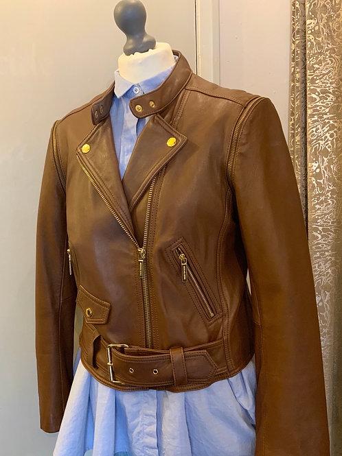 Michael Kors leather jacket 14