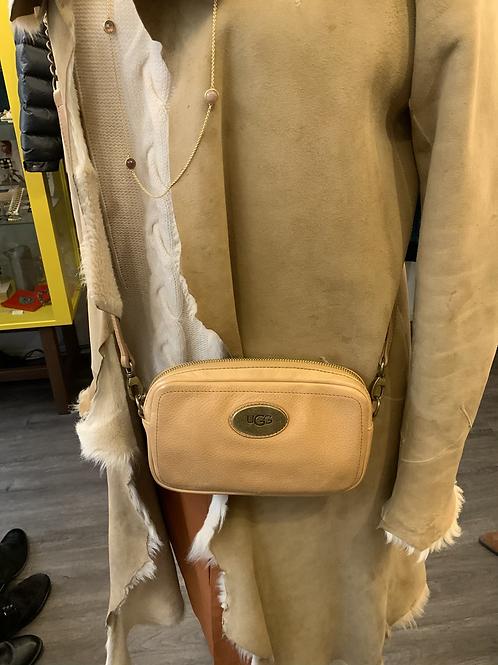 Ugg leather across body bag