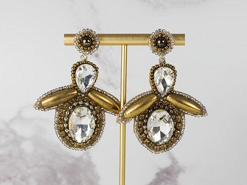 Huge amazing BEE earrings