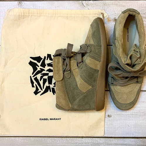 ISABEL MARANT BOBBY SNEAKERS size 38