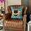 Thumbnail: Bee Cushion in Powder Blue