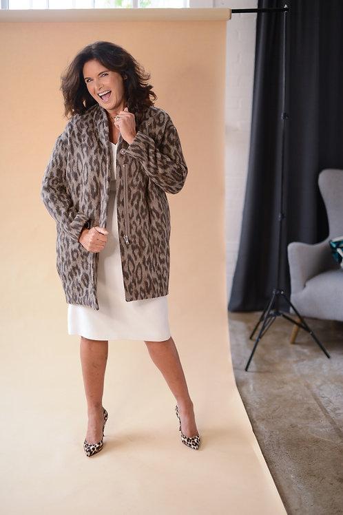 Louboutins leopard fabric