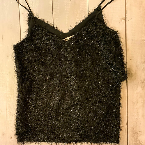 WHISTLES glitter top size 6