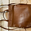 Thumbnail: JOHN LEWIS OAK LEATHER BACKPACK