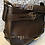 Thumbnail: Burberry smooth brown calf buckle handbag