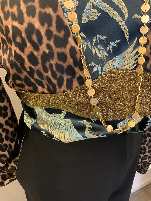 SCOTCH AND SODA leopard top