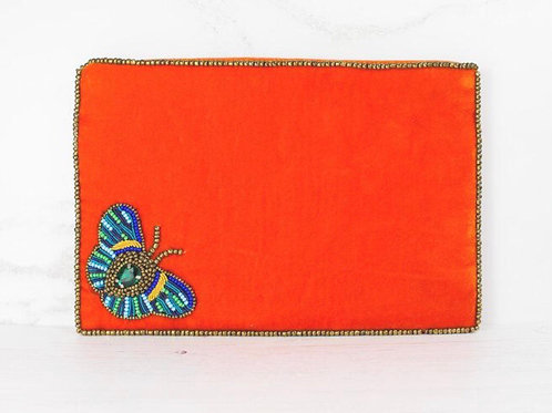 Butterfly large purse