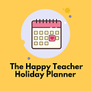 The Happy Teacher Holiday Planner Thumbn