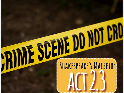 Macbeth Act 2 Scene 3