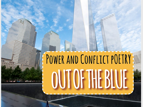 Power and Conflict Poetry: Out of the Blue