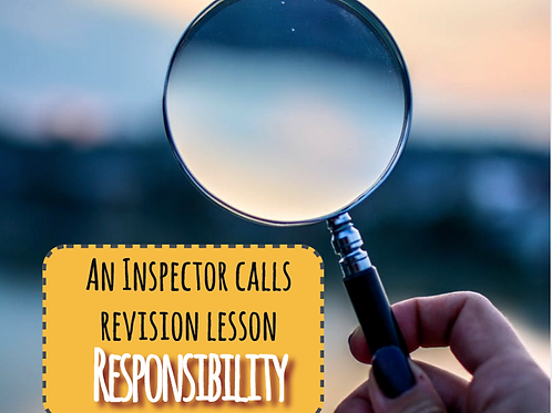 An Inspector Calls Revision: Responsibility