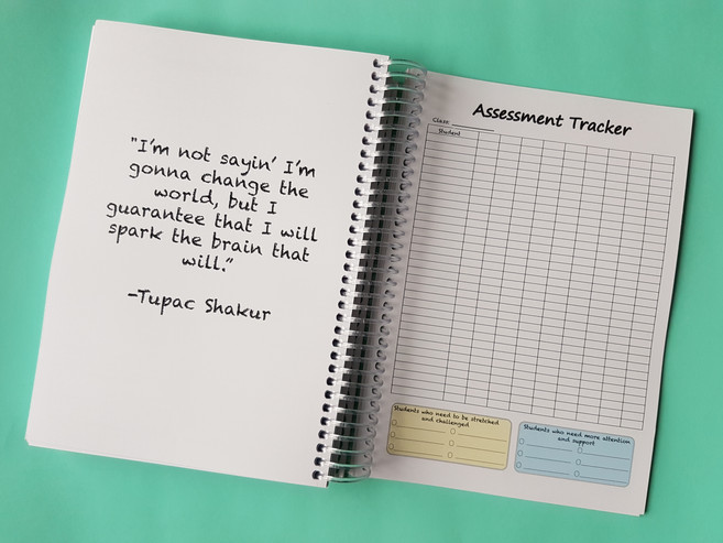 Assessment Tracker Page