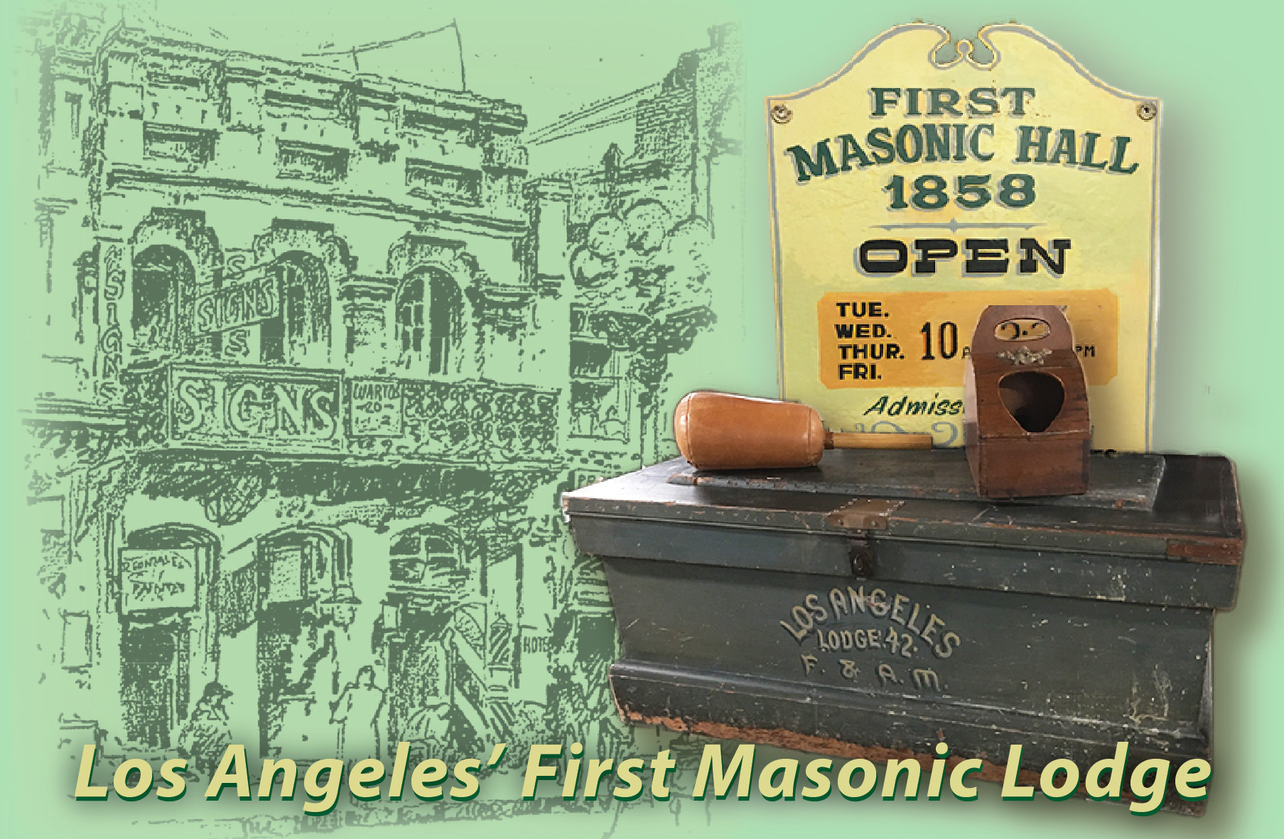 first masonic hall