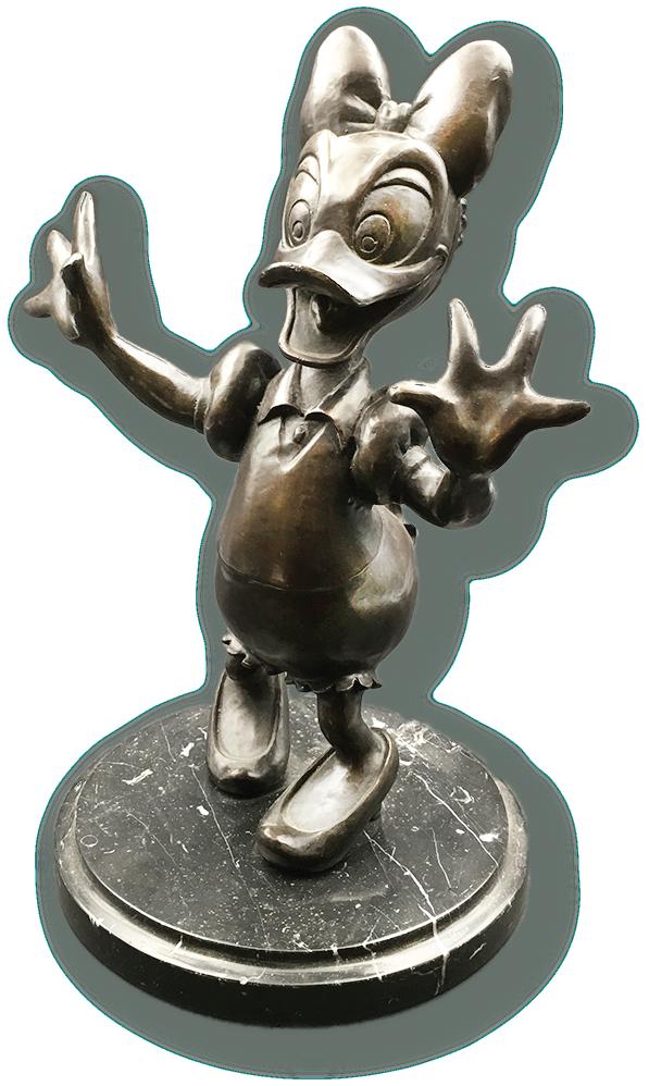 daisey duck bronze.png
