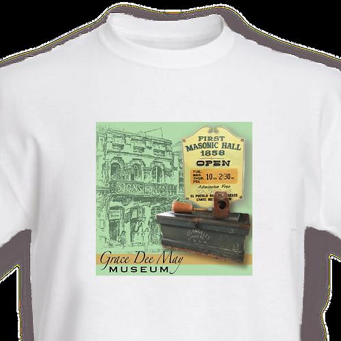 """First Masonic Hall"" T-shirt"