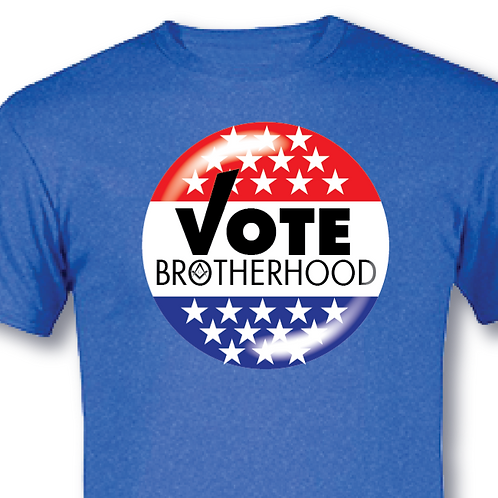 """Vote Brotherhood"" T-shirt"