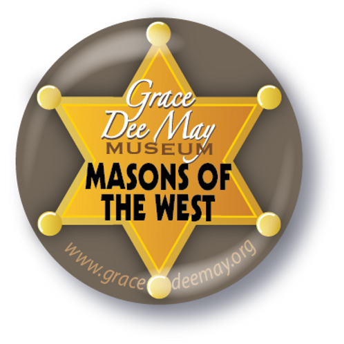 """Masons of the West"" Button"