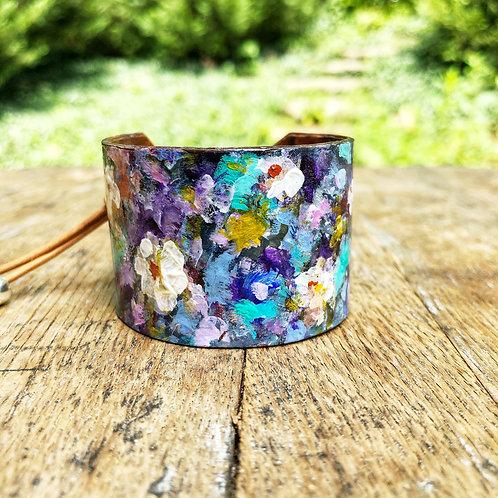 Indigo Blue Cuff Bracelet