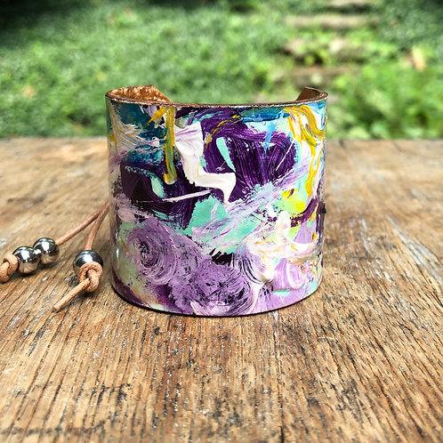 Forever Lilac Cuff Bracelet