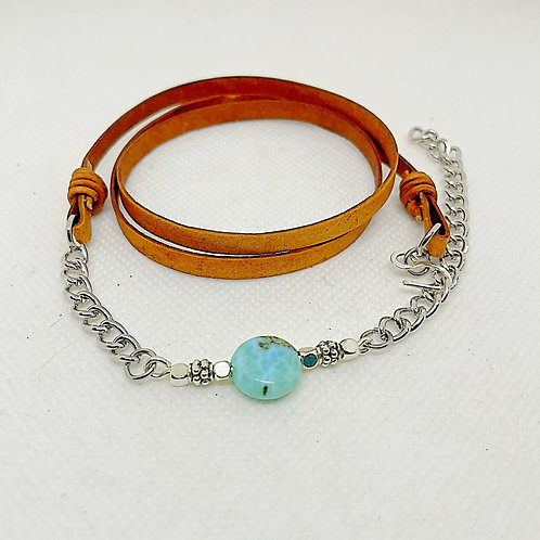 Turquois Wrap Bracelet