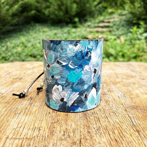 Blue Wild Cuff Bracelet