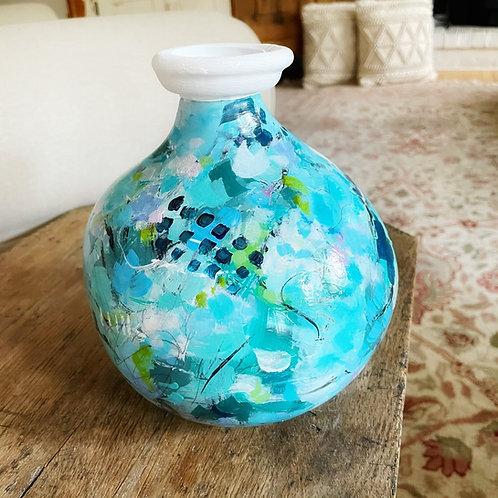 Morning Glory Vase