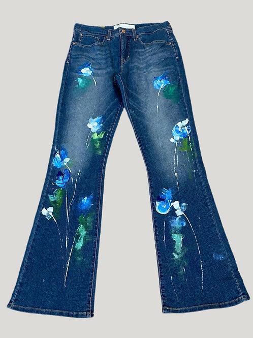 Painted Levi Jeans