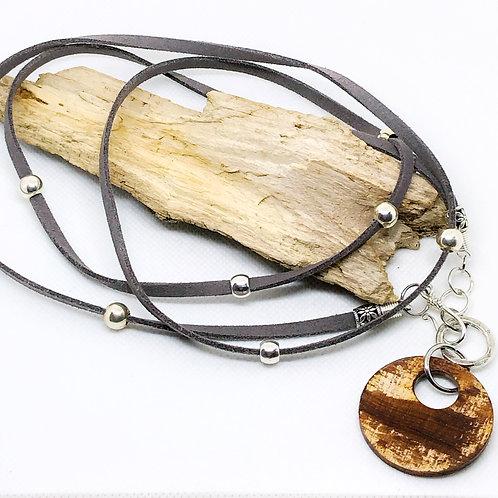 Clarity Wrap Necklace