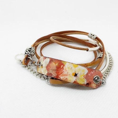 Montana Leather Wrap Bracelet