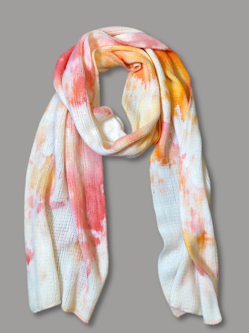 Coral Sky Scarf