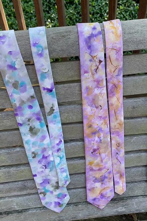 Painted Silk Ties