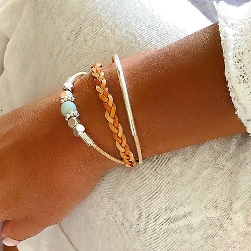 Monterey Triple Strand Bracelet